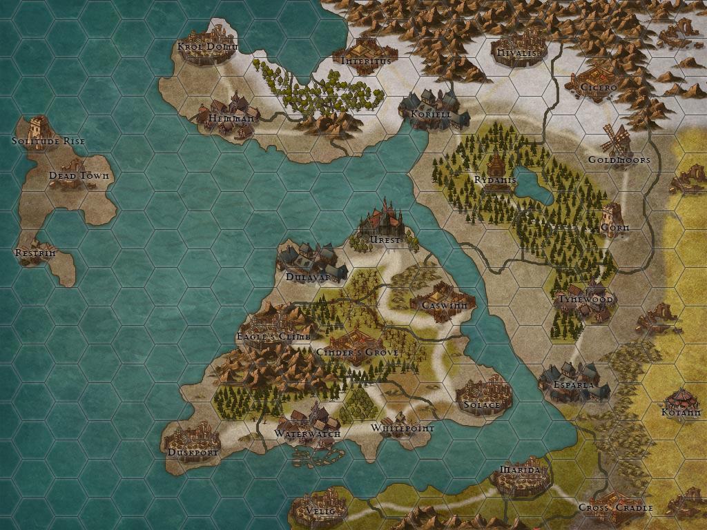 Dorvine Map