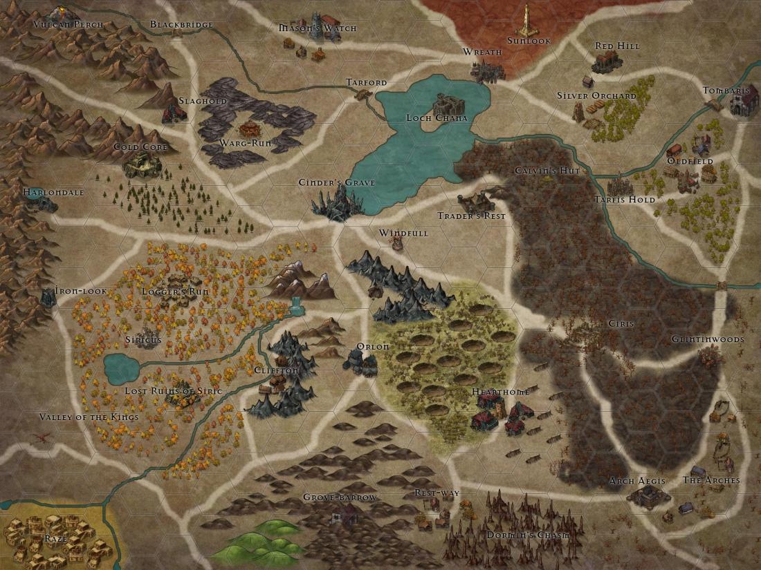 Cinder's Grave Province